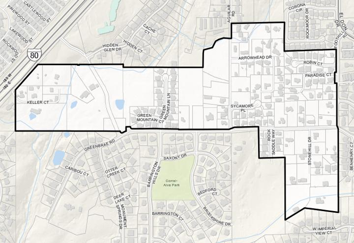 Greenbrae Rocklin Annexation Map