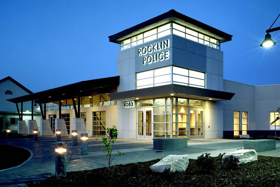 photo of Rocklin Police Station