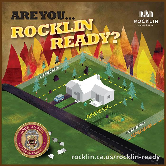 Are you Rocklin Ready? Property Clearing Zones