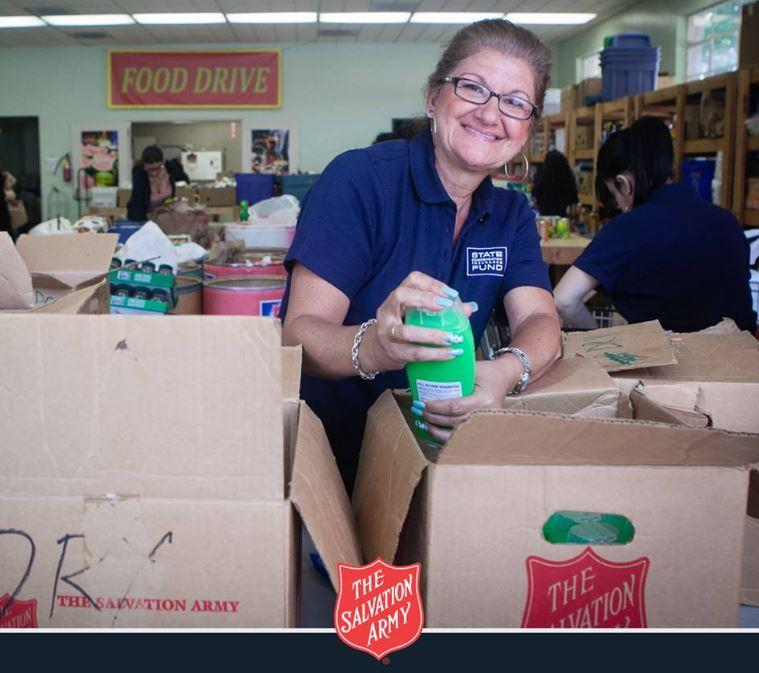 Salvation Army Food Donation Photo