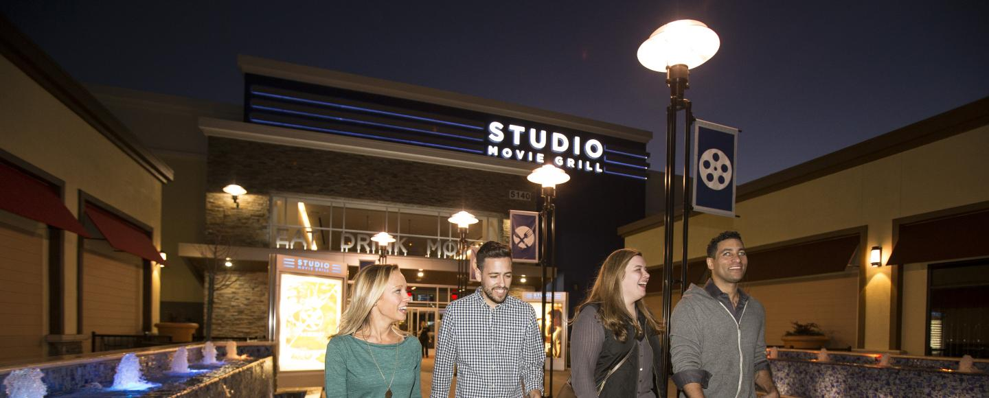 "A night out at Studio Movie Grill in Rocklin's ""Rocklin Commons"" shopping center"