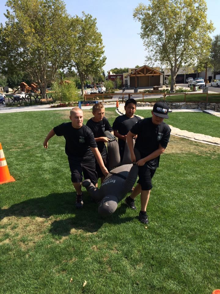Junior Police Academy Helps Rocklin Police Connect with