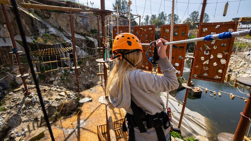 Adventure Operations Llc Receives First Ever Acct Accreditation For Quarry Park Adventures City Of Rocklin