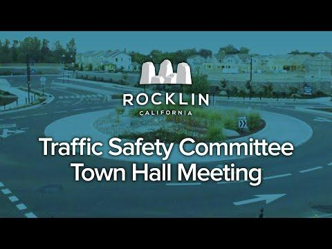 Traffic Safety Committee Town Hall Meeting
