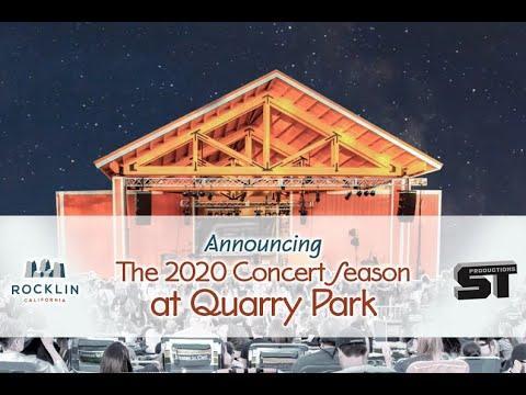 Quarry Park Concerts 2020