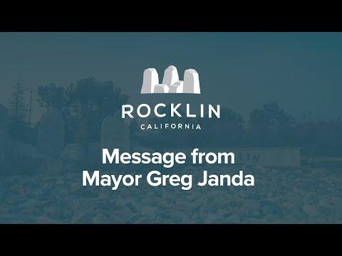 Message from Mayor Janda on COVID-19