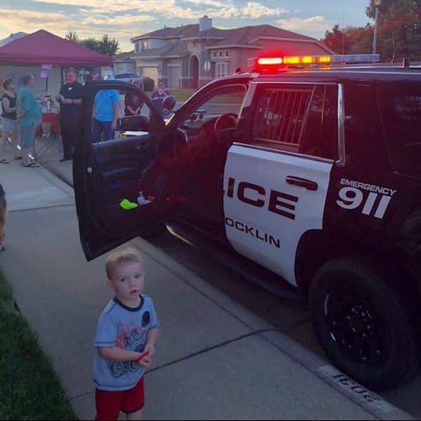 The Rocklin Community Gathers for National Night Out