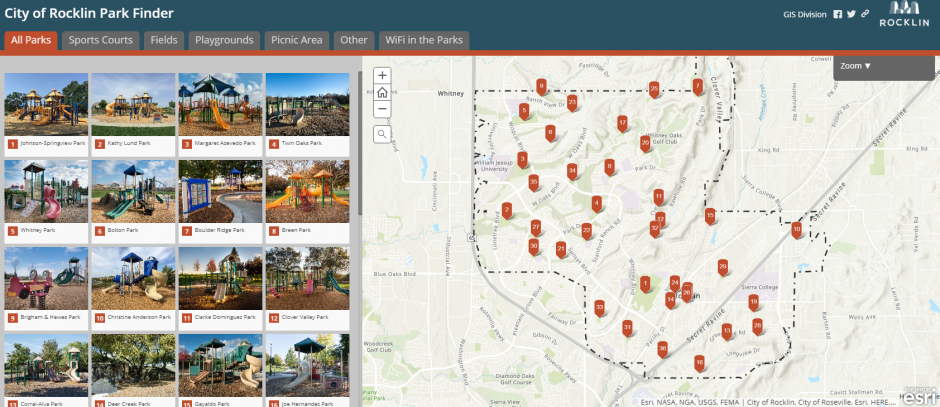 Wealth of Information Offered by City GIS Online Maps - City ...