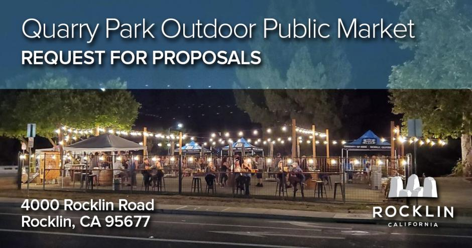 RFP Quarry Park Outdoor Public Market