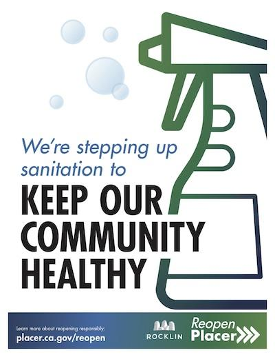We Are Stepping Up Sanitation