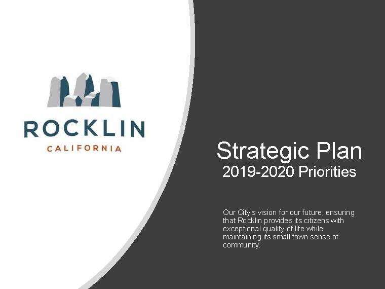 Strategic Plan Title Page