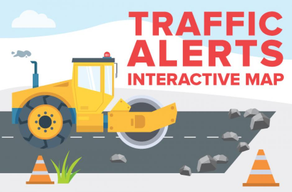 Link to Traffic Alerts Interactive Map
