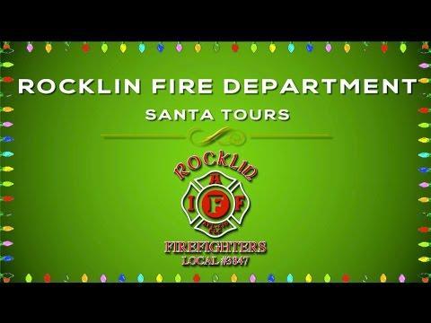 Rocklin Fire Santa Tours