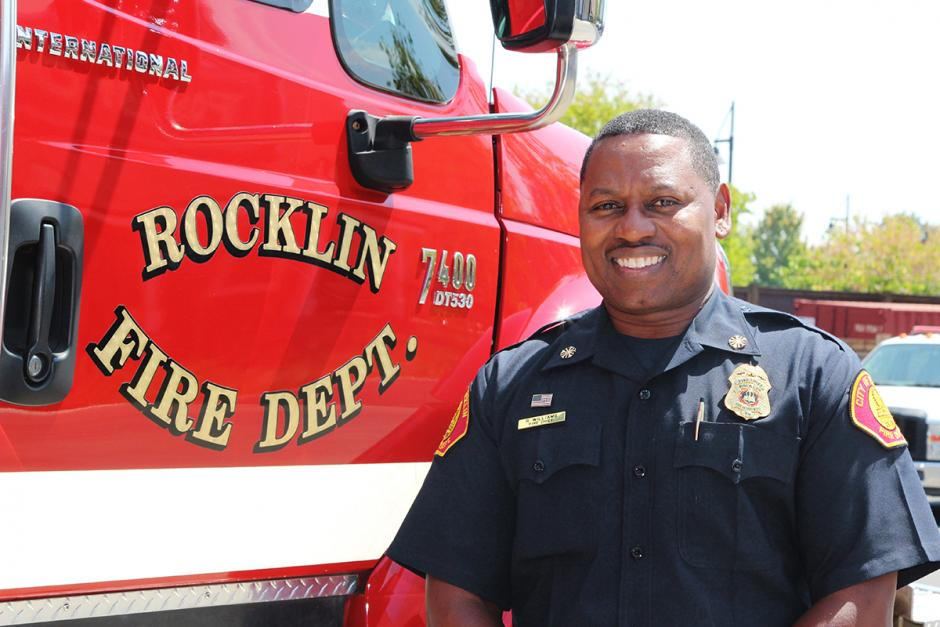 Fire Chief Reginald Williams