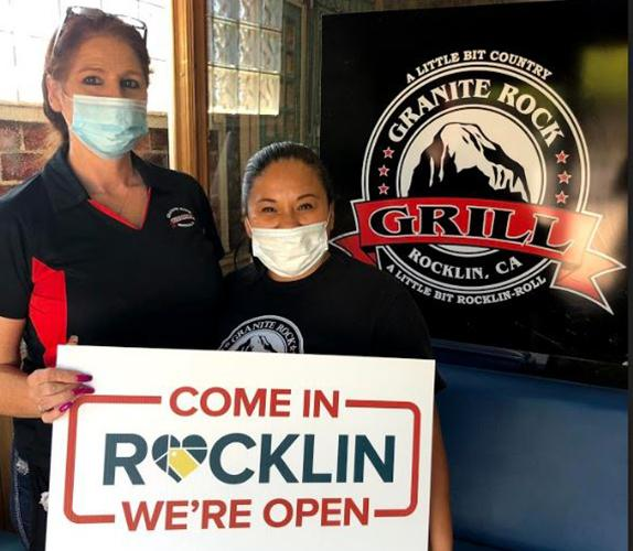 Granite Rock Grill is open for business in Rocklin, CA!