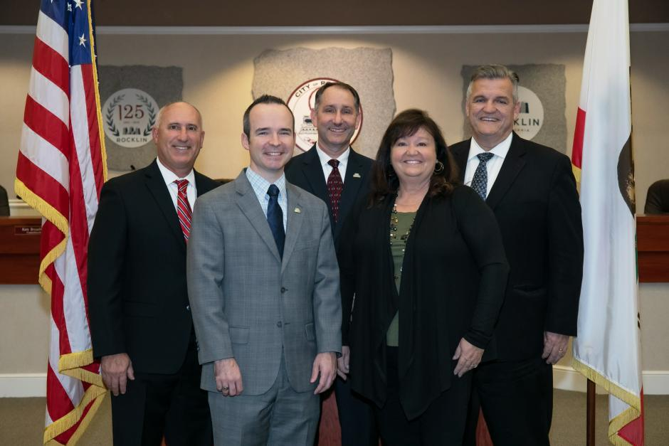 Rocklin City Council Group Photo