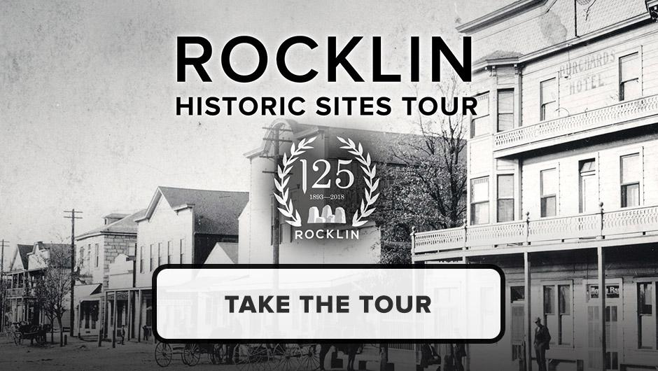 Button to Rocklin's Historic Sites tour.