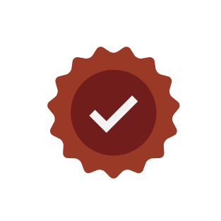 Checkmark badge icon