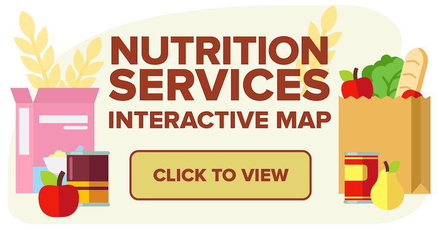 Button linking to the Nutrition Services Interactive Map
