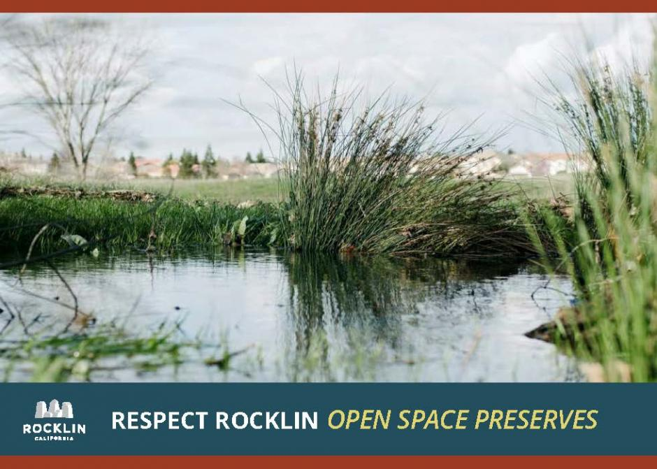 Photo of watershed open space in the City of Rocklin.