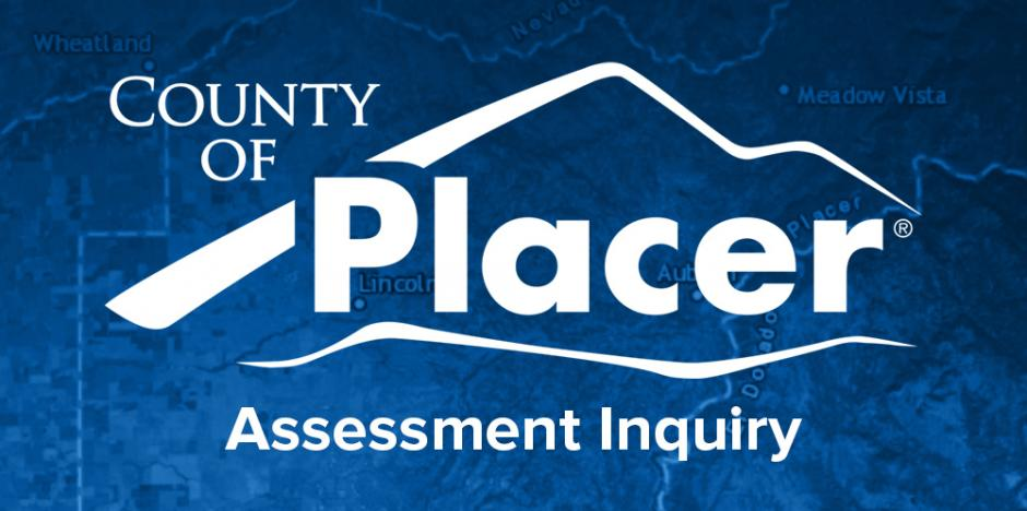 Link to Placer County Assessment Inquiry Map