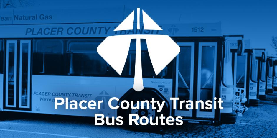 Link to bus routes in Placer County