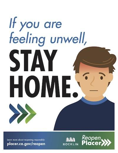 Stay Home If You Feel Unwell