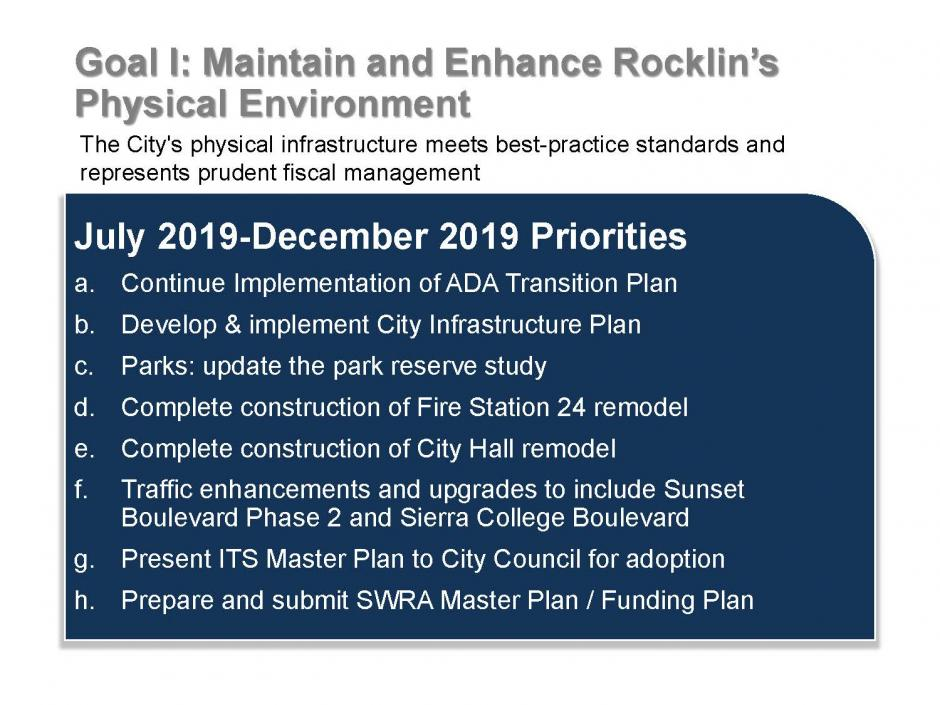 Rocklin Strategic Plan, Page 4