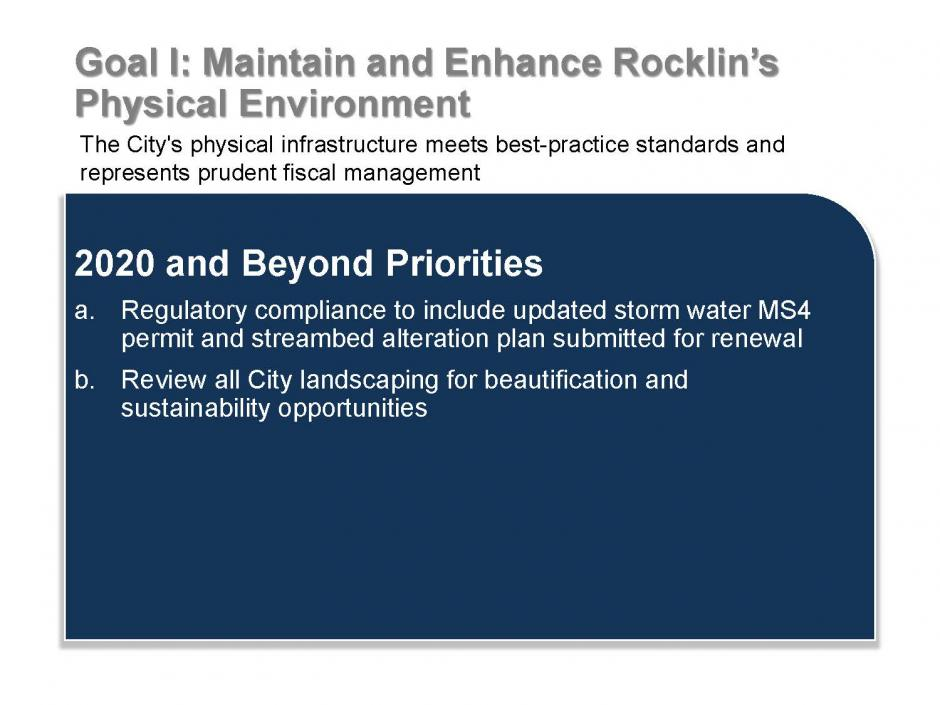 Rocklin Strategic Plan, Page 5