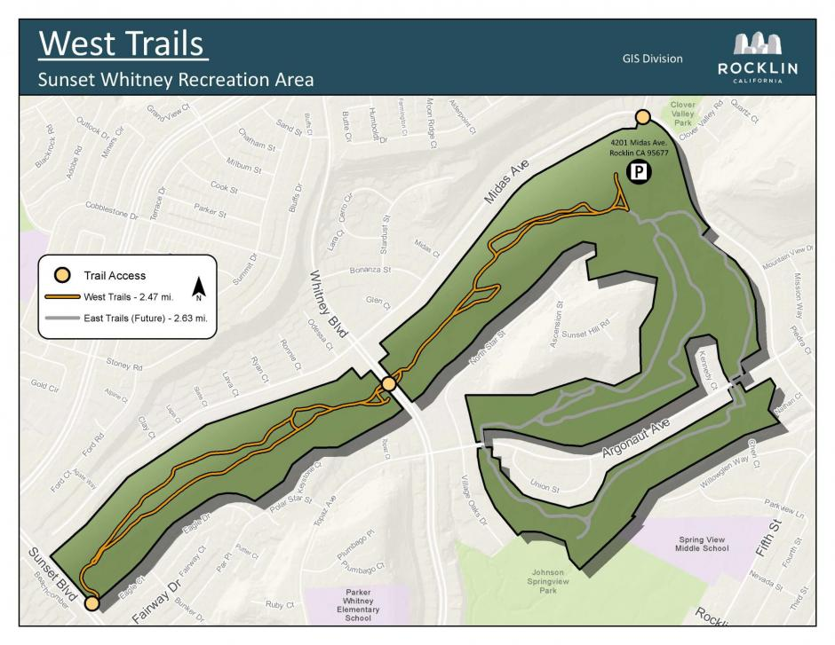 SWRA West Trails Maps