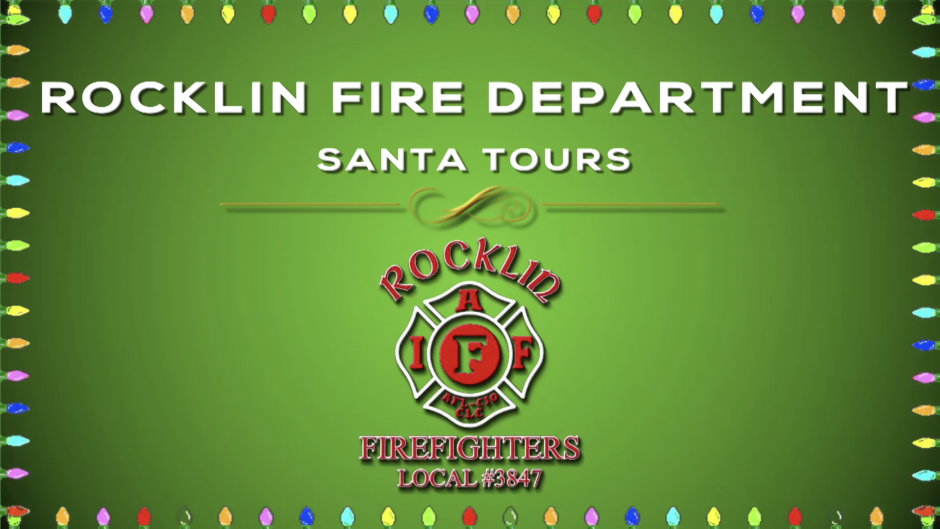 Rocklin Fire Santa Tours